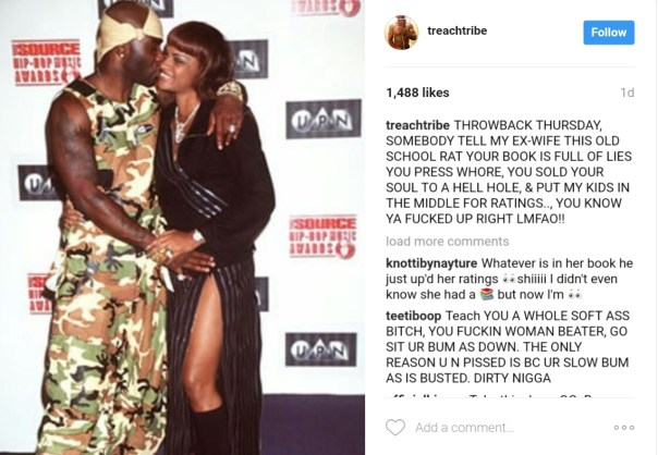 Rapper Treach Has Dragged His Ex-Wife Pepa Of Salt N Pepa On Instagram 3