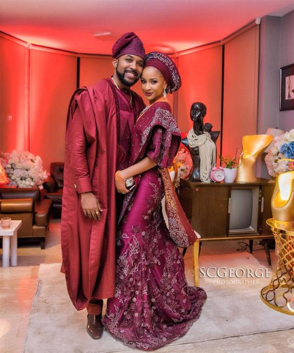 Even More Photos From Banky W And Adesua Etomi Wedding Introduction 6