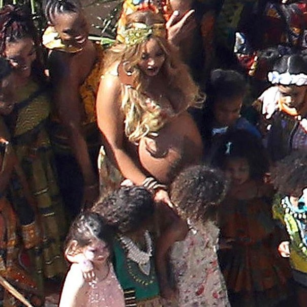 Beyonce Rocked Fela's Music In Star-studded Carter Push Party 3