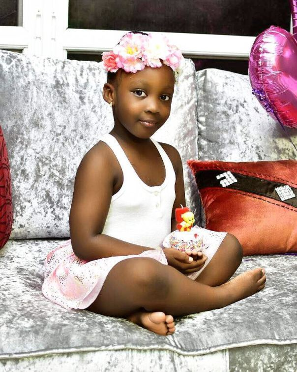 Celebrity Kids: Timaya Celebrates Daughter Emmanuella's