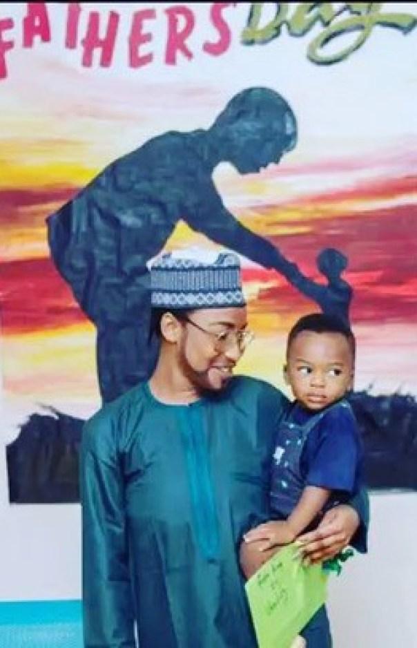 Tonto Dikeh Son's School Father's Day (1)
