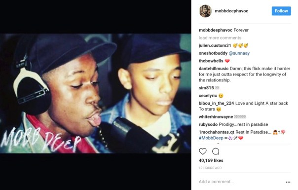 Celebrities Have Reacted To News Prodigy Of Mobb Deep Had Died Aged 42 (4)
