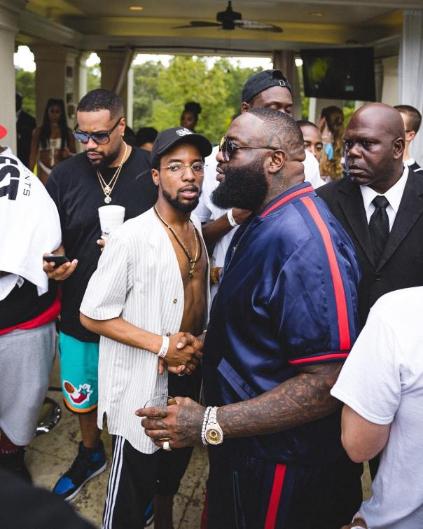 Rick Ross' Biggest Pool Party (5)