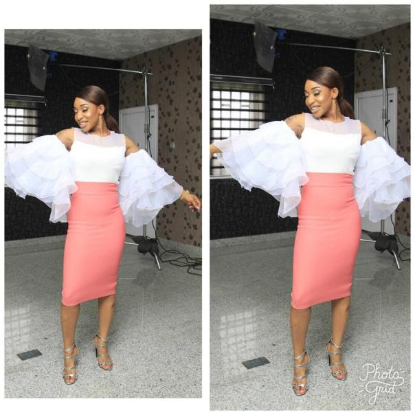 Tonto Dikeh Celebrates Her Return To Nollywood After Four Years With Stunning Photo (2)