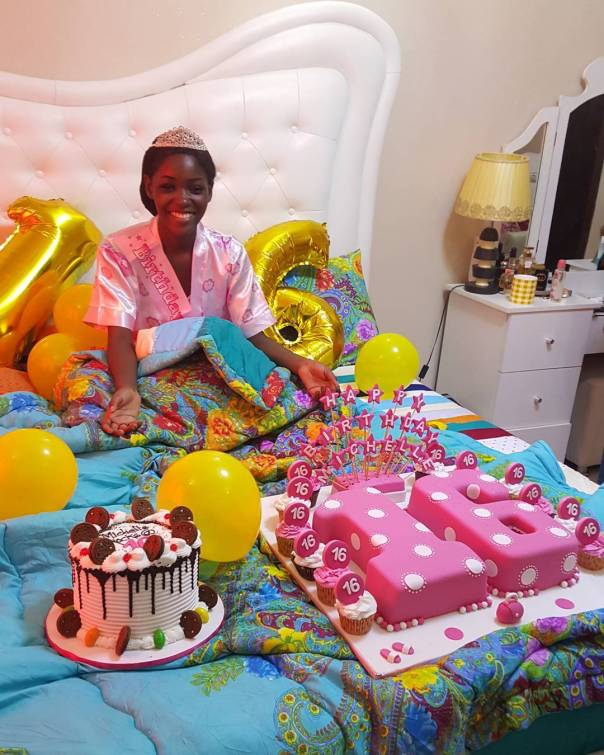 Mercy Aigbe Celebrates As Daughter Michelle Turns 16 (3)