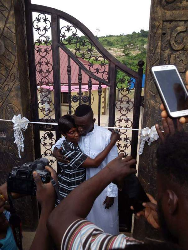 Kojo Nkansah Lilwin Built His Mother This House For Her 70th Birthday (1)