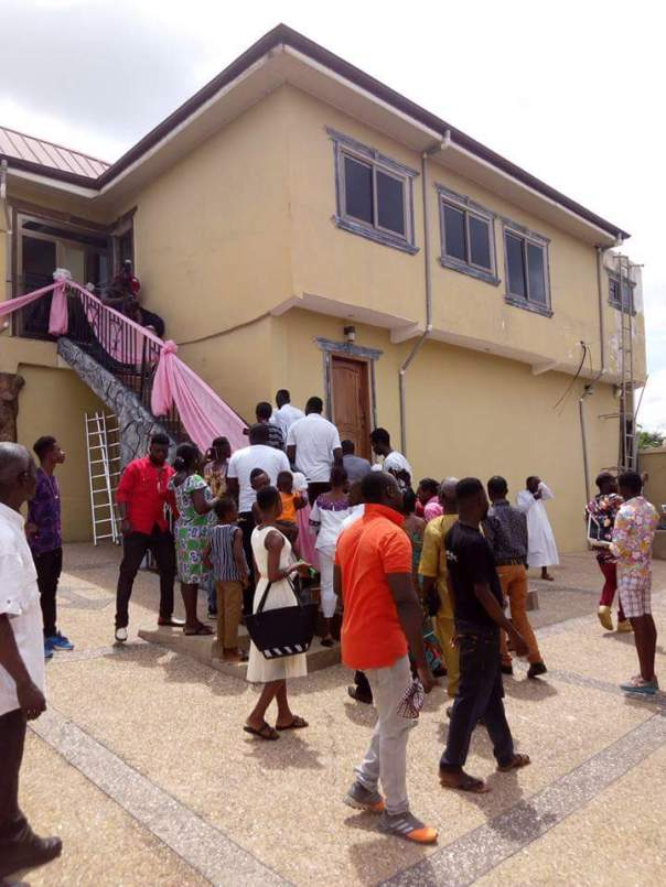 Kojo Nkansah Lilwin Built His Mother This House For Her 70th Birthday (7)