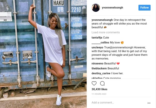 Yvonne Nelson Puts Legs On Display Without Rocking Any Pants (1)