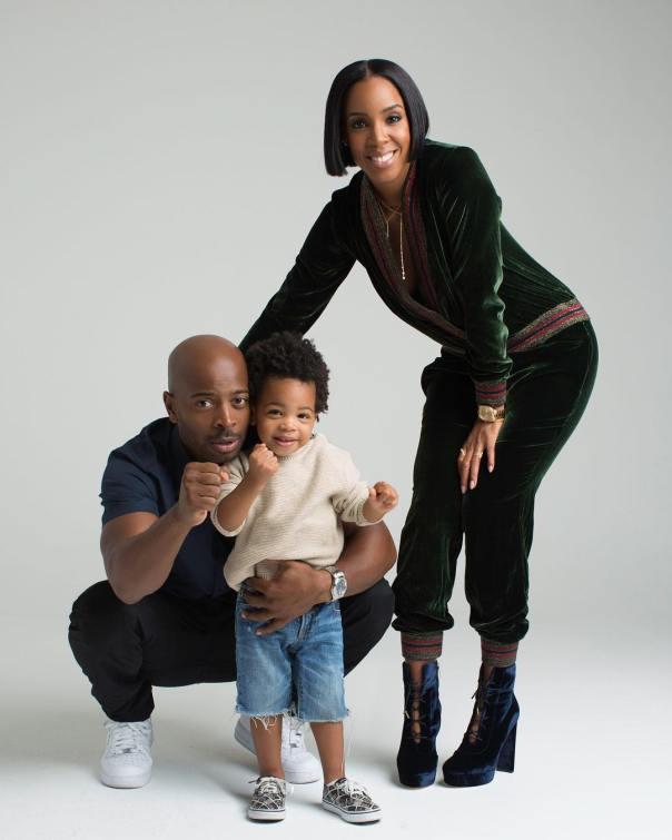 Kelly Rowland Family Photoshoot (2)
