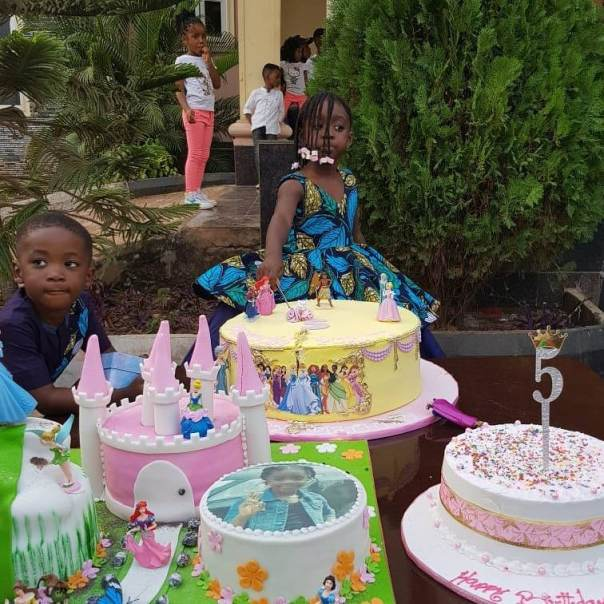 Mercy Johnson And Husband Prince Odi Okojie Celebrate Purity's 5th Birthday (7)