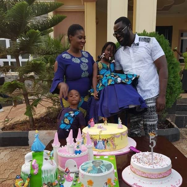 Mercy Johnson And Husband Prince Odi Okojie Celebrate Purity's 5th Birthday