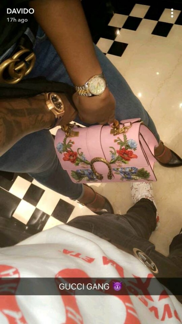 Davido And Mystery Woman On Romantic Holiday In Dubai (3)