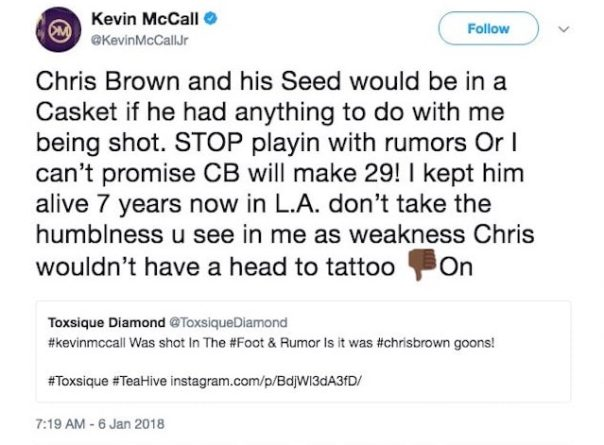Kevin McCall Shot In The Foot (4)