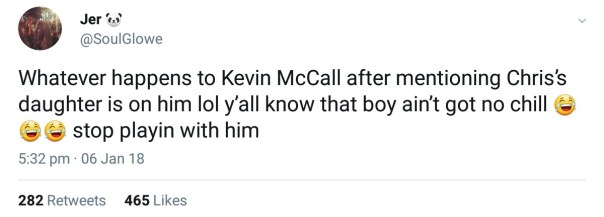 Kevin McCall Threatened Chris Brown And His Daughter Royalty (5)