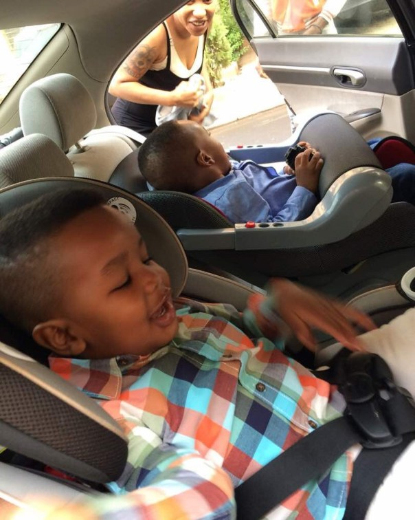 Tonto Dikeh Goes Emotional And Tearful As Son Resumes First Day Of School (2)