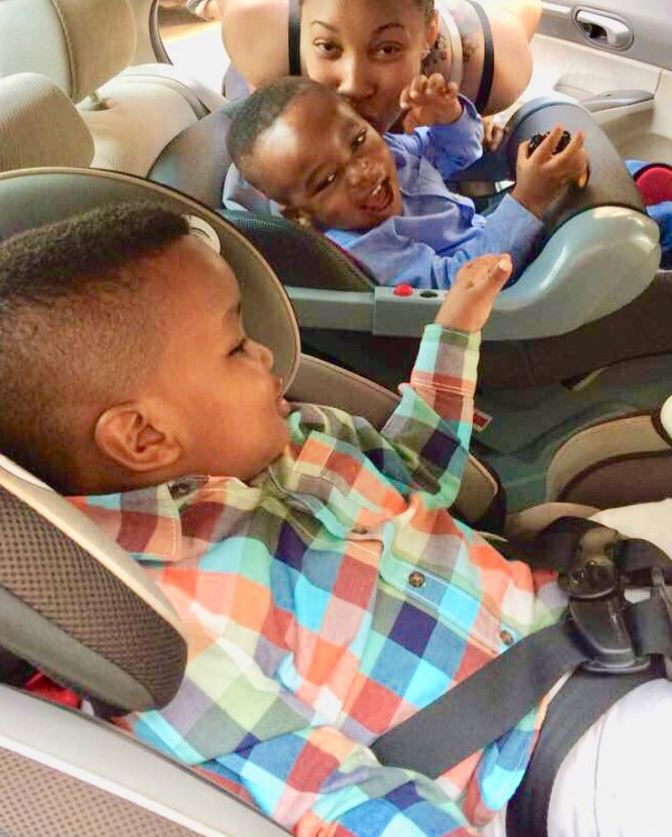 Tonto Dikeh Goes Emotional And Tearful As Son Resumes First Day Of School (3)