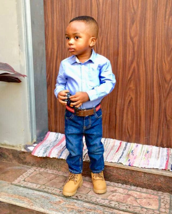 Tonto Dikeh Son Resumes First Day Of School (2)