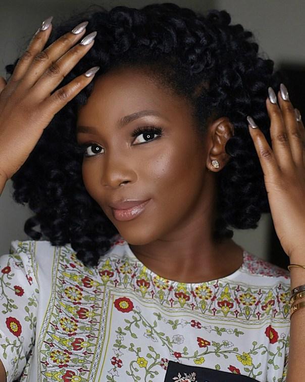 Genevieve Nnaji Stuns In New Makeup Photos (2)