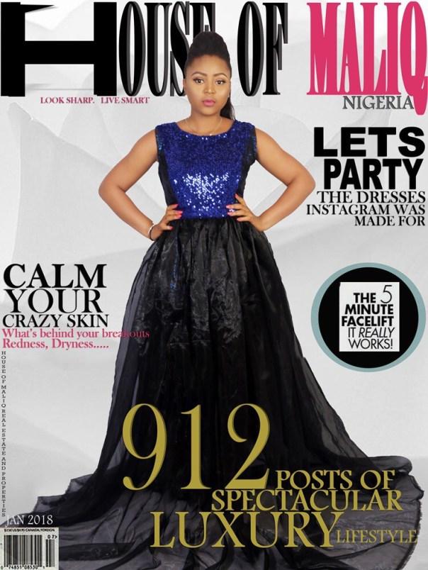 Regina Daniels On The Cover Of House Of Maliq January Edition (4)