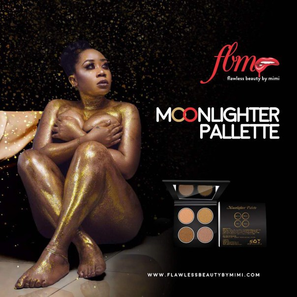 Moyo Lawal Poses Completely Nude In Promotional Photoshoot (2)
