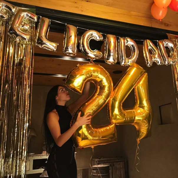 Georgina Rodriguez Celebrated Her 24th Birthday (2)