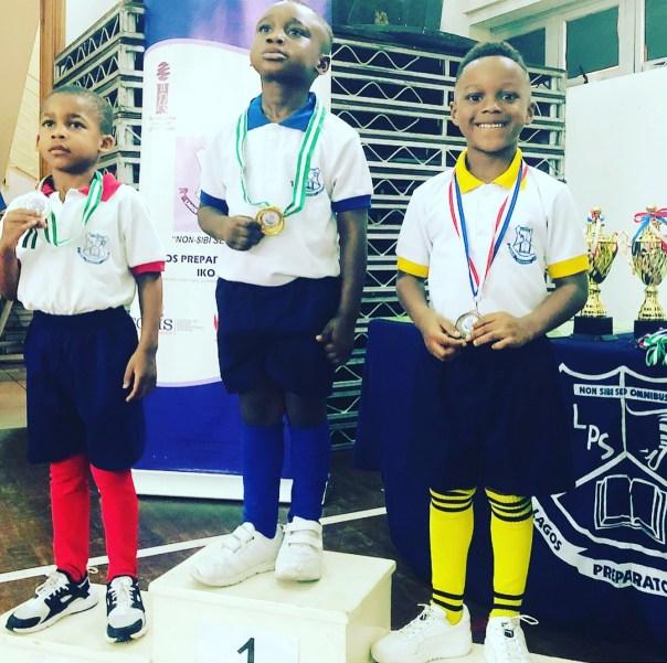 Paul Okoye Won Daddy's Race In Inter House Sports (3)
