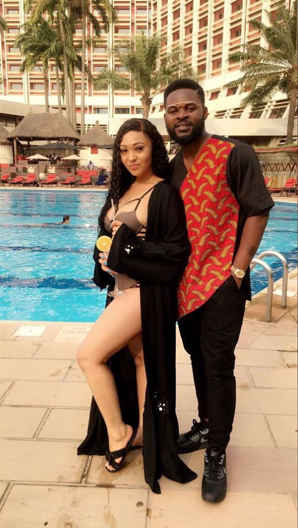 AY Comedian And Falz Pictured With Rosy Meurer On Set Yoruba Demons (3)