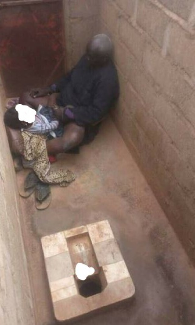 Elderly Man Caught Sexually Assaulting A Little Girl Inside A Toilet (3)
