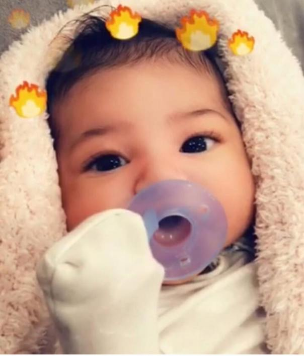 Kylie Jenner And Travis Scott First Child Together Stormi