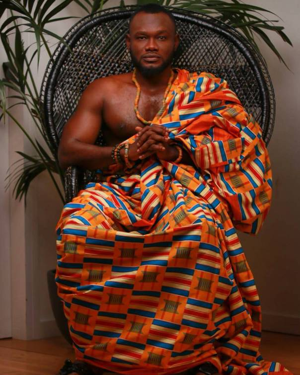 Prince David Osei And Ava Enchill Rock Stunning Kente Traditional Cloth To Mark Ghana's 61st Independence Celebrations (2)