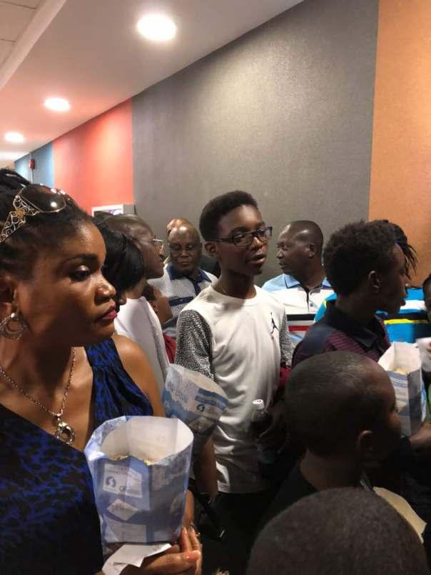 Atiku Abubakar Storms Silverbird Cinemas To Watch Black Panther (4)