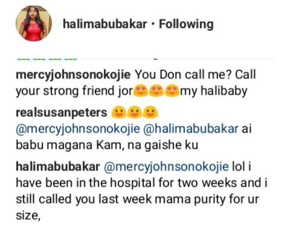 Halima Abubakar Blasts Susan Peters (3)
