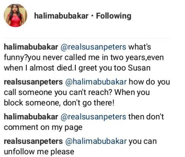 Halima Abubakar Blasts Susan Peters (4)