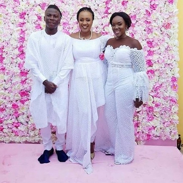 Stonebwoy's Mother-in-law At His Daughter's Naming Ceremony (2)