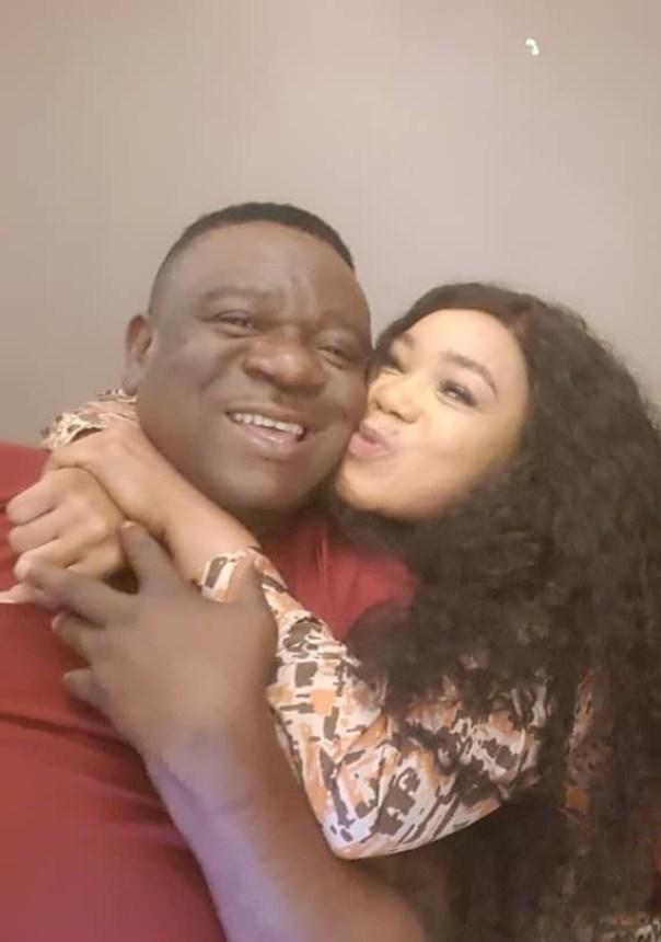 Rachael Okonkwo Kissing Mr Ibu (3)