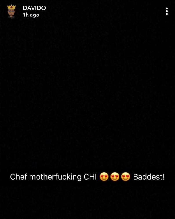 Davido Hails His Girlfriend Chioma (2)