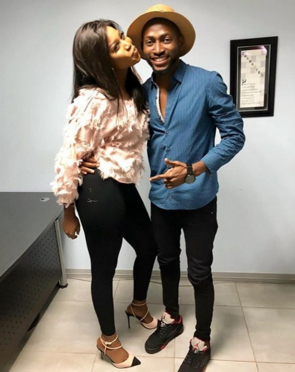 Lilian Afegbai Poses With Miracle