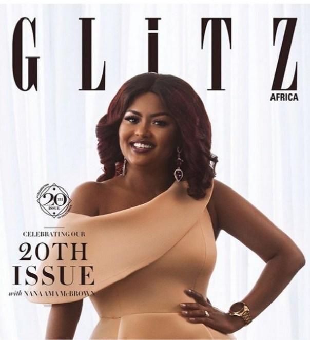 Nana Ama McBrown Cover Of Glitz Africa 20th Issue