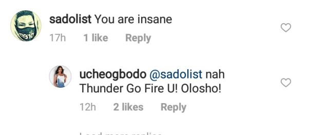 Uche Ogbodo Curses At Fan Who Called Her Insane (2)