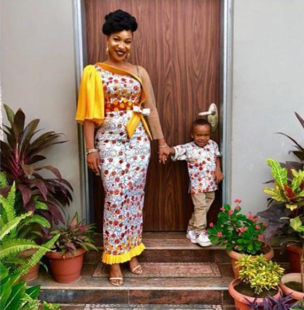 Tonto Dikeh And Son Are Twinning (2)
