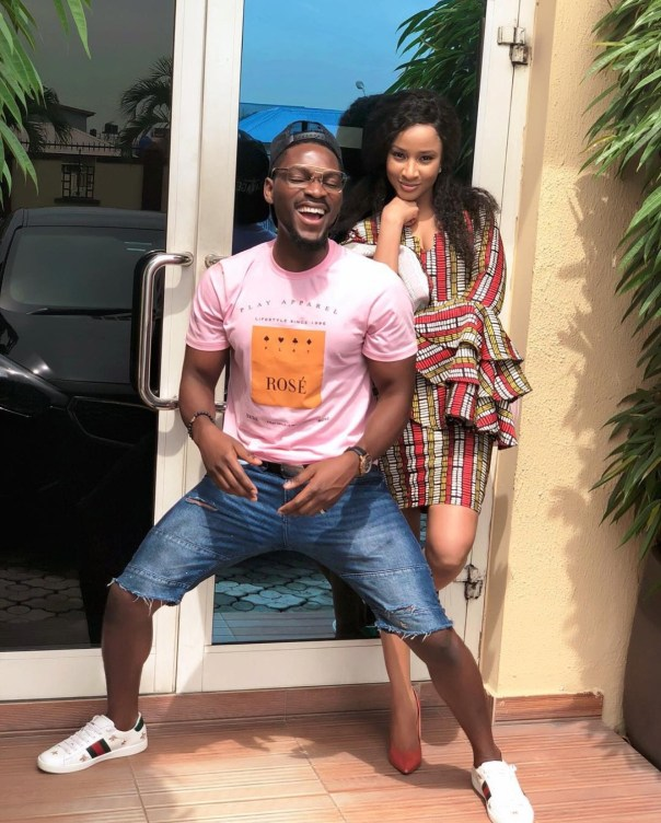 Tobi Bakre Poses With Adesua Etomi (2)