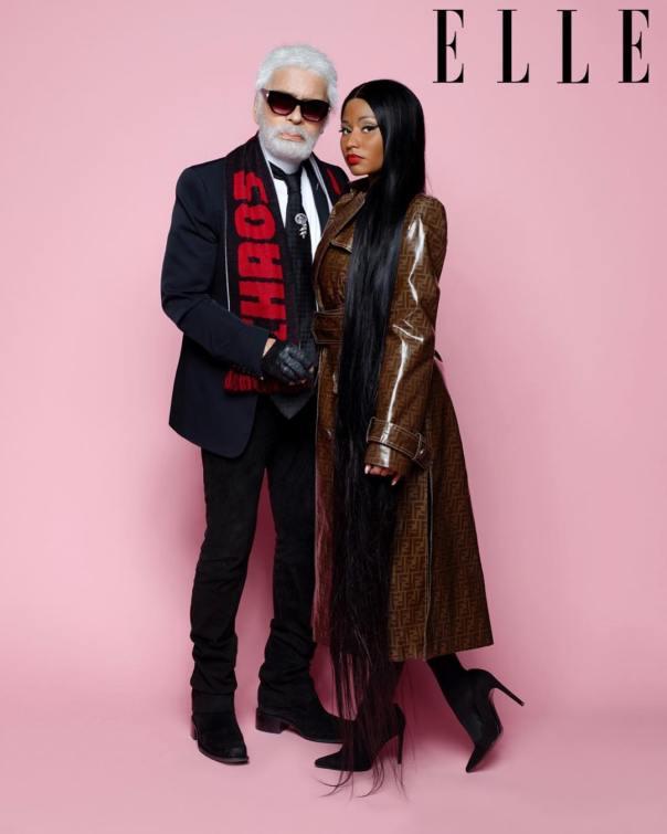 Nicki Minaj Covers Elle Magazine (4)