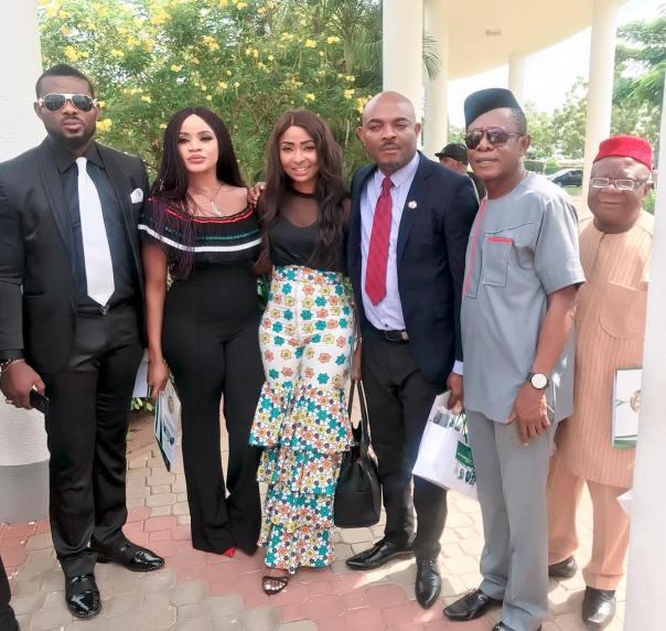 Belinda Effah And Nkem Owoh Mark Democracy Day In Aso Rock (3)