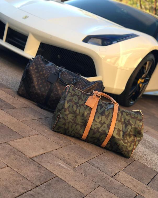 IyannaMayweather Shows Off Her Expensive Ferrari 488 (2)