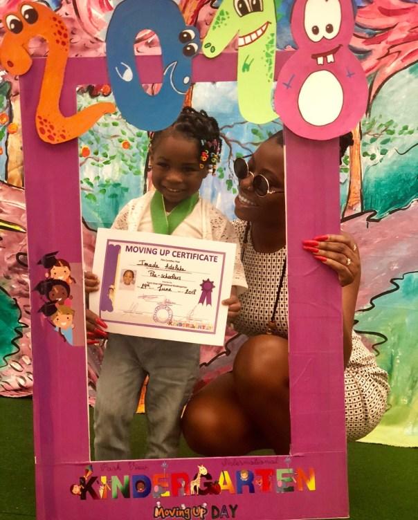 Sophia Momodu Celebrates As Daughter Graduates From Kindergarten (2)