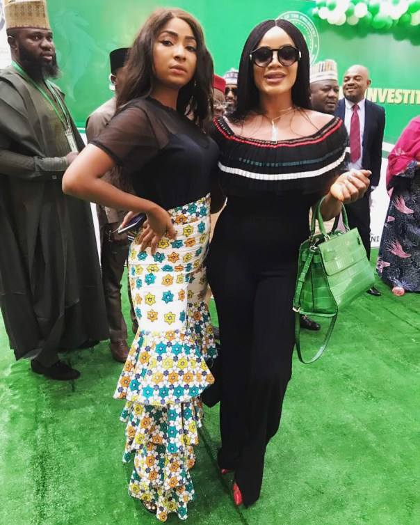 Belinda Effah With Uche Ogbodo Democracy Day In Aso Rock (2)