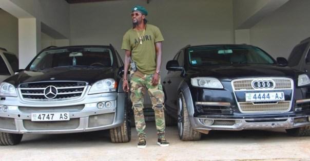 Emmanuel Adebayor Shows Off His Expensive New Cars (3)