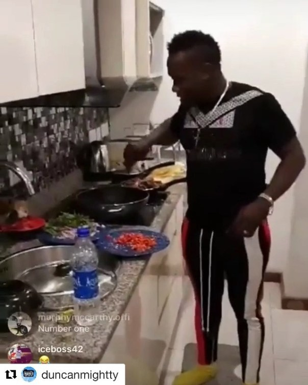 Tiwa Savage Praises Duncan Mighty For His Cooking Skills (2)