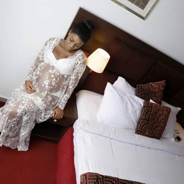 Queen Nwokoye Baby Girl Bump (2)