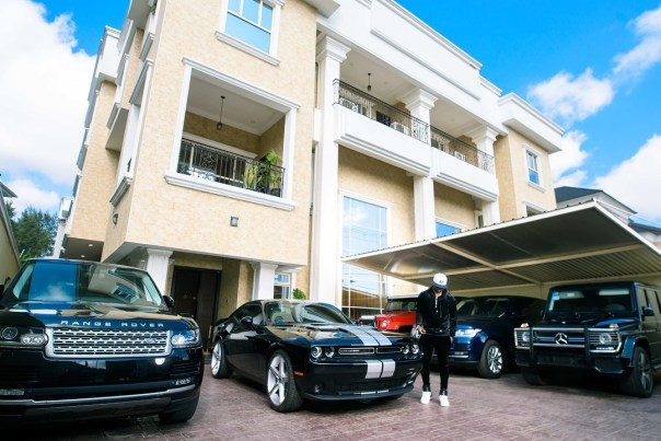 Peter Okoye Shows Off Mansion And Cars (2)